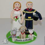 couple de mariés du pays basque