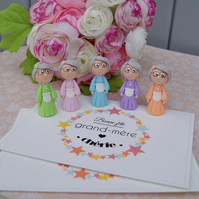 Figurine cadeau fête des grands mères mamie