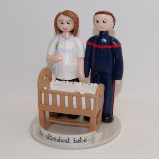 figurines de grossesse - en attendant bébé