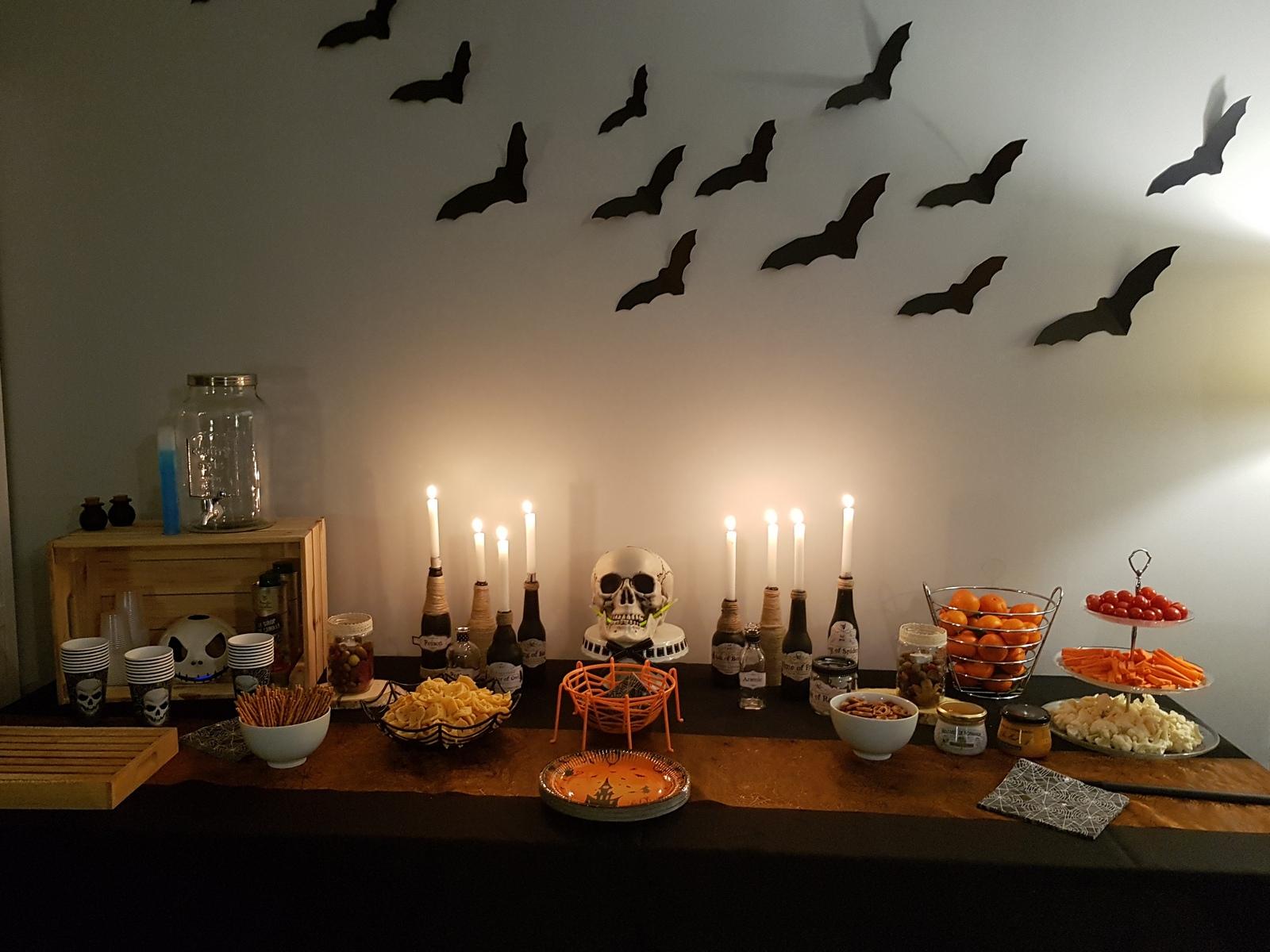 Buffet d'Halloween