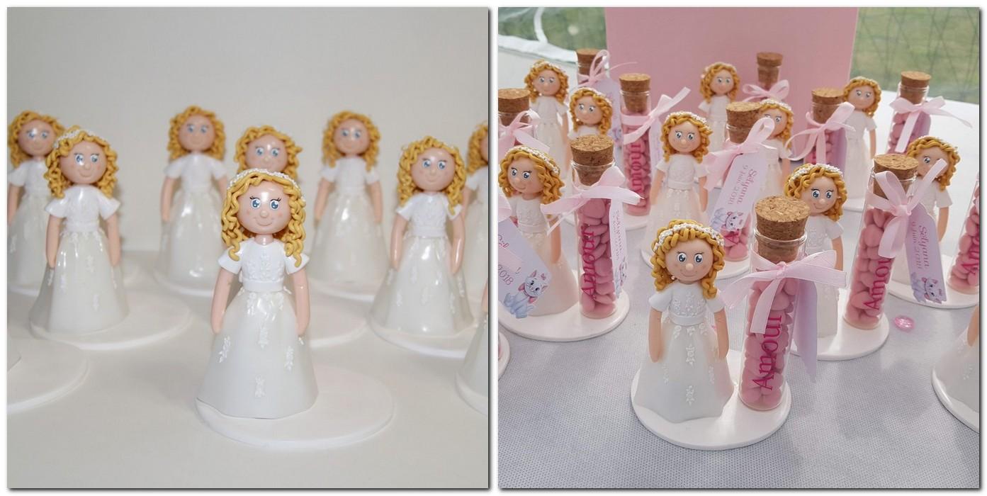 Figurine communion pour tubes à dragées