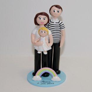 figurine cadeau parrain marraine